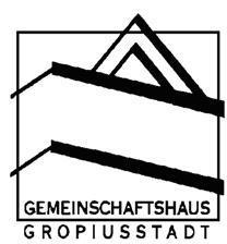 Das Gemeinschaftshaus Gropiusstadt